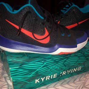 Kyrie 3 Black/Team Orange Concord